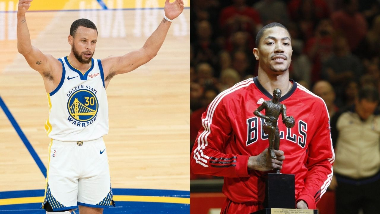 """""""Stephen Curry had a better MVP season than Derrick Rose"""": NBA fans shockingly give the unanimous MVP the edge over the youngest MVP ever"""