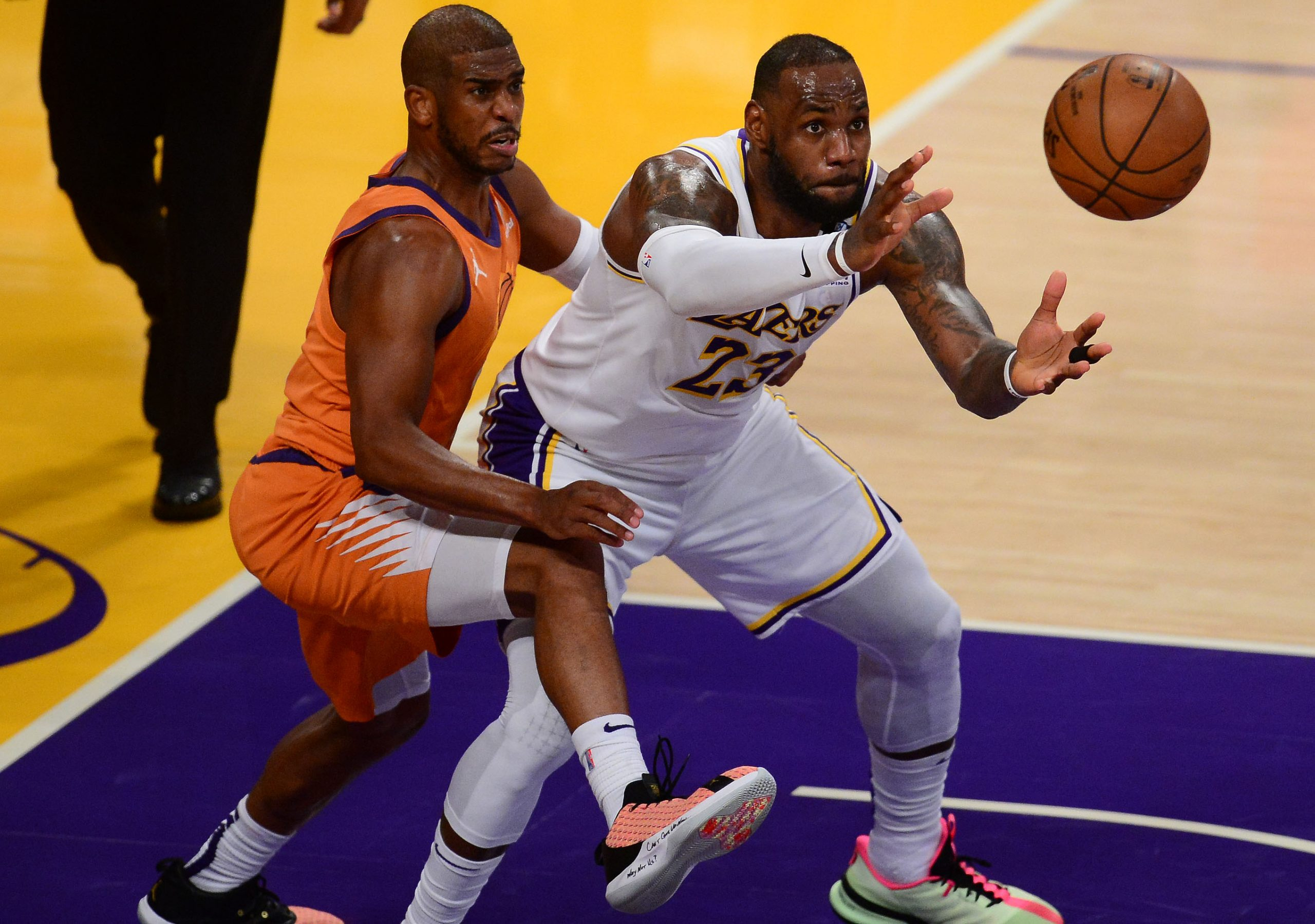 """""""LeBron James is the harbinger of chaos for NBA franchises"""": Colin Cowherd throws serious shade at Lakers star amidst Chris Paul to LA offseason rumors"""