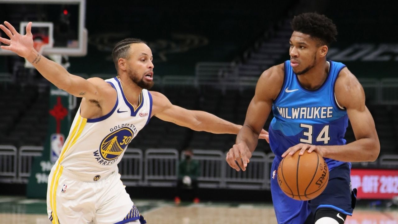 """""""Have to start calling Giannis 'Steph Antetokounmpo'"""": Mike Breen hilariously compares the Bucks MVP's improved free shooting to Steph Curry"""