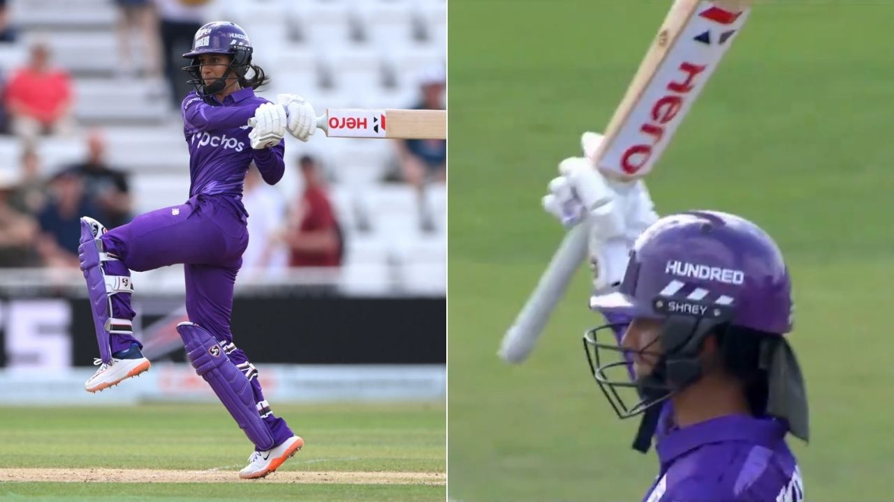 J Rodrigues cricketer: Jemimah Rodrigues scores 2nd consecutive half-century in The Hundred vs Trent Rockets