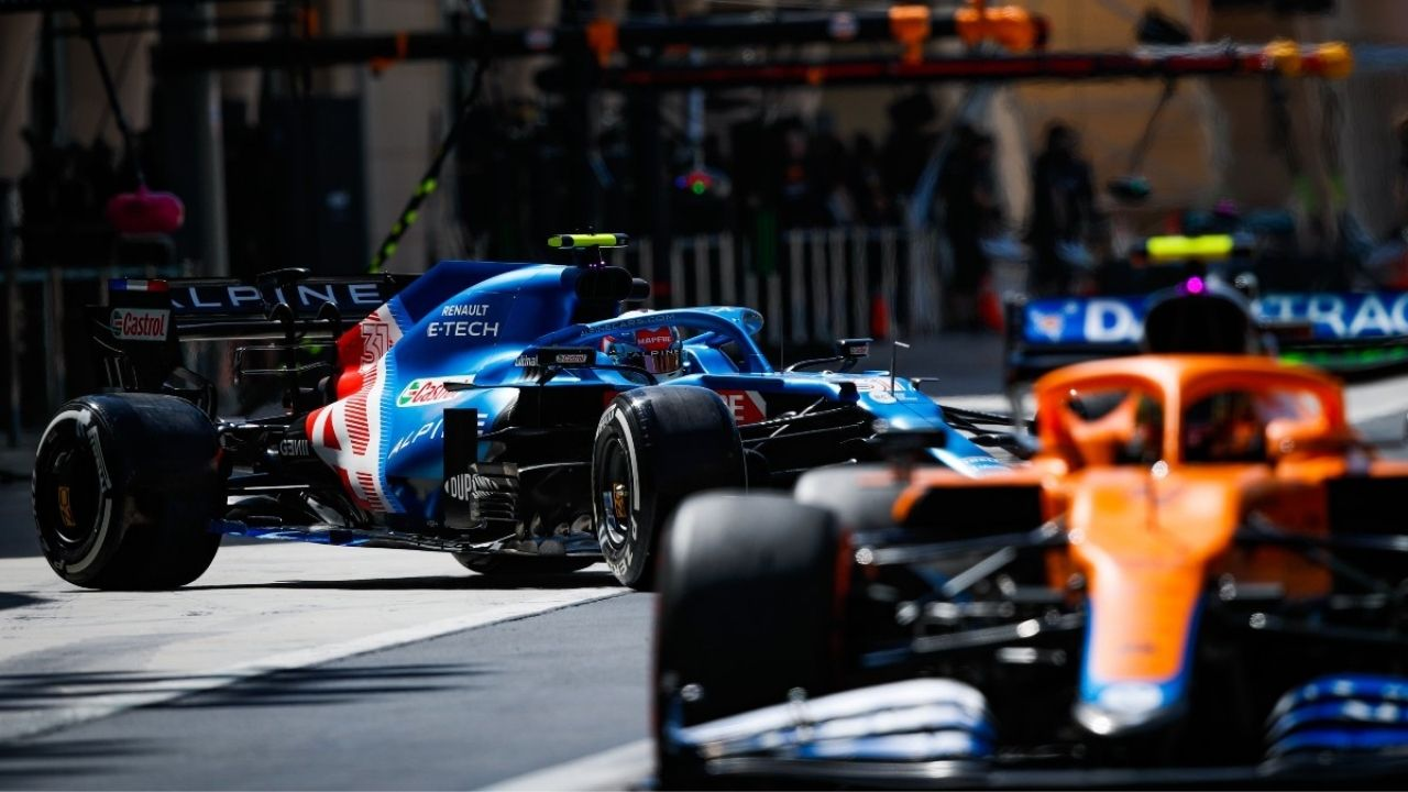 """Alpine were very fast today""– Lando Norris wary of Alpine's pace against McLaren"