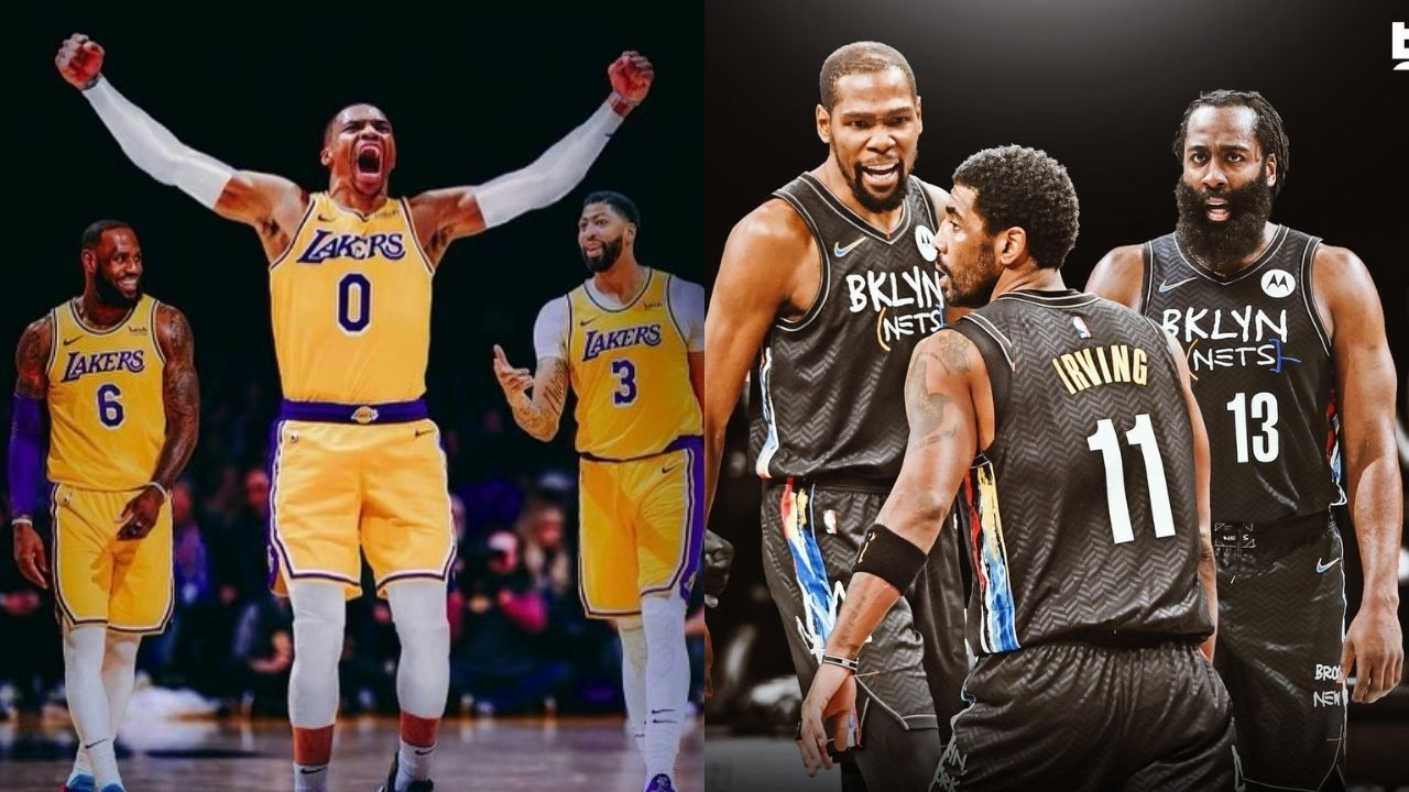 """""""Lakers Big 3 over the Nets Big 3"""": Kendrick Perkins outrageously explains why LeBron James and the Lakers are better than Kevin Durant and co"""