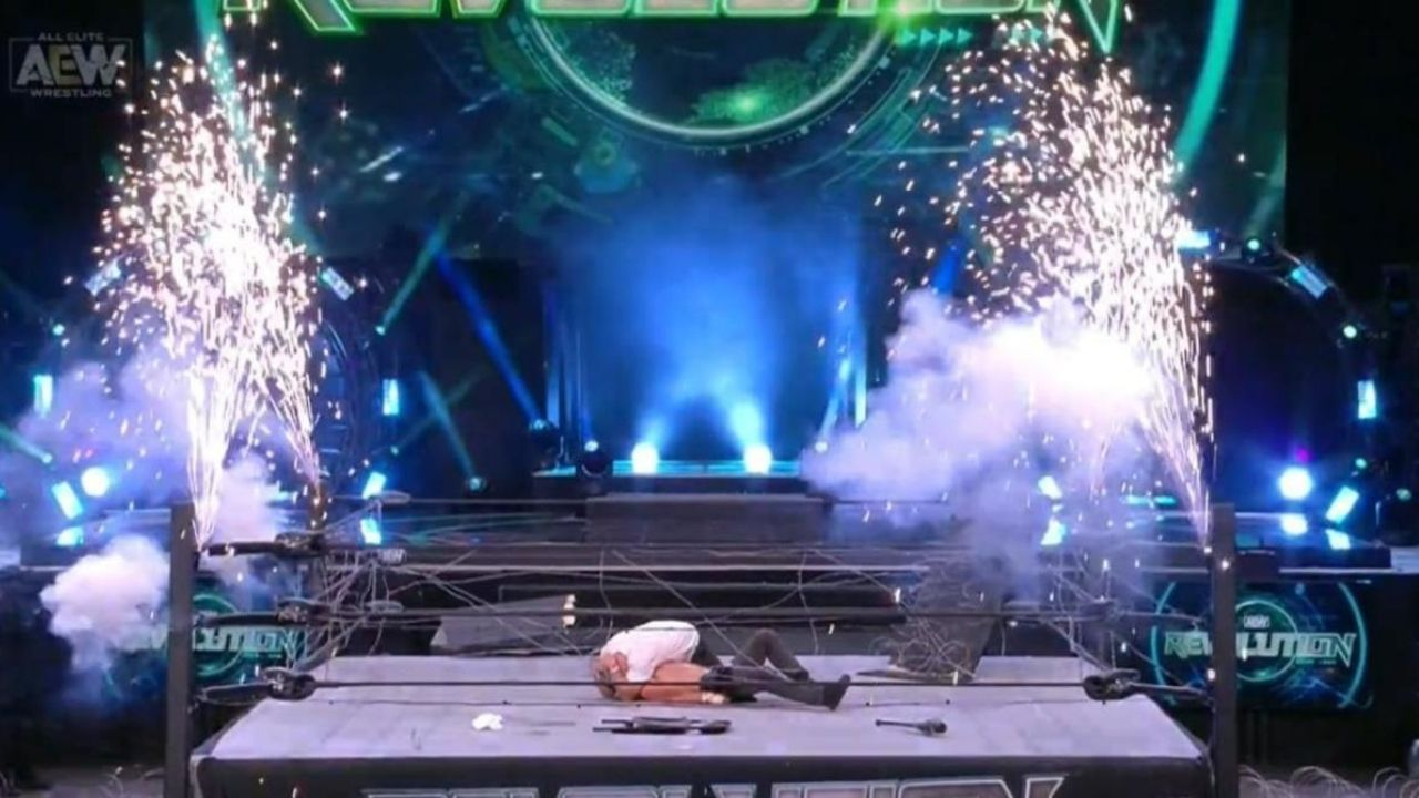 Tony Khan reveals he didn't pay the Pyro team for the Exploding Barbed Wire Deathmatch at AEW Revolution