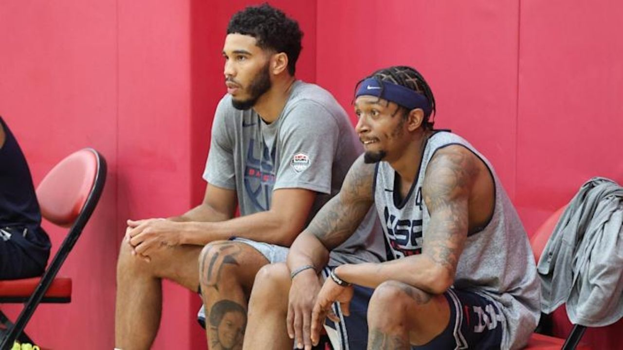 'Bradley Beal wants to team up with Jayson Tatum': Wizards star set to avoid Steph Curry and Warriors to team up with bestfriend in Boston