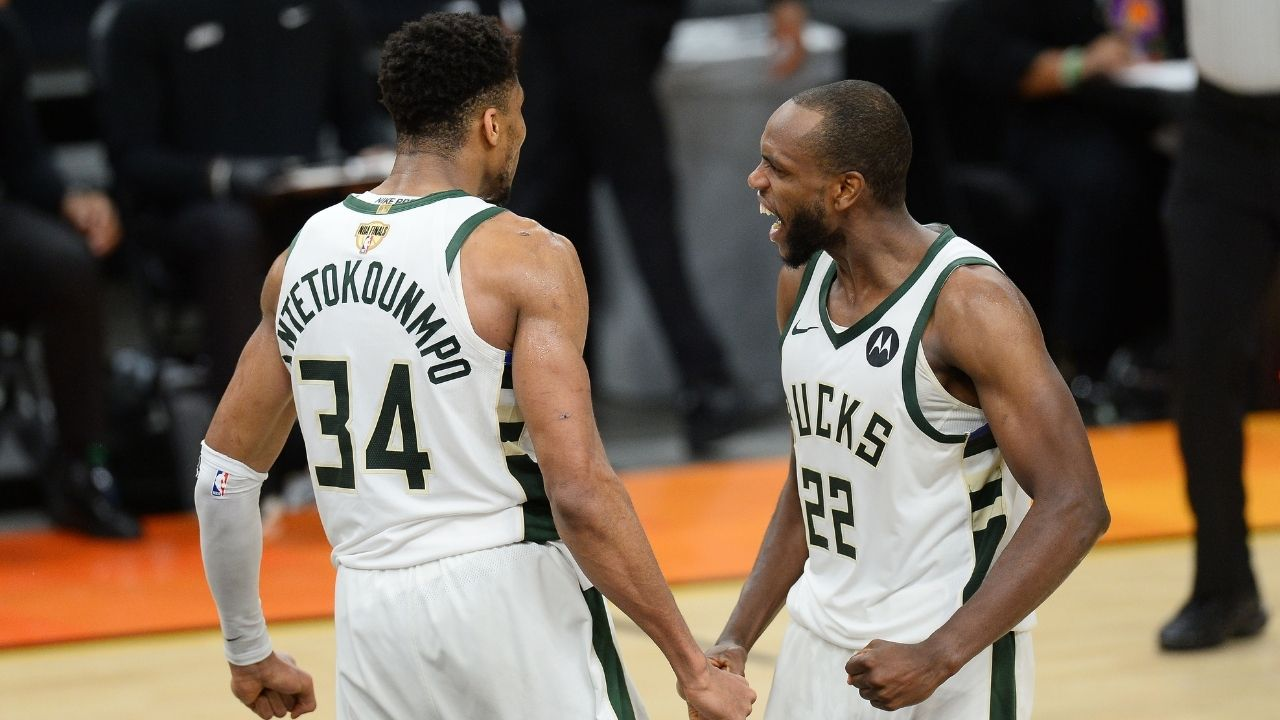 """""""Khris Middleton needs to win Finals MVP over Giannis!"""": Stephen A Smith makes gets swept up in the hype and makes a ridiculous claim about the Bucks star"""