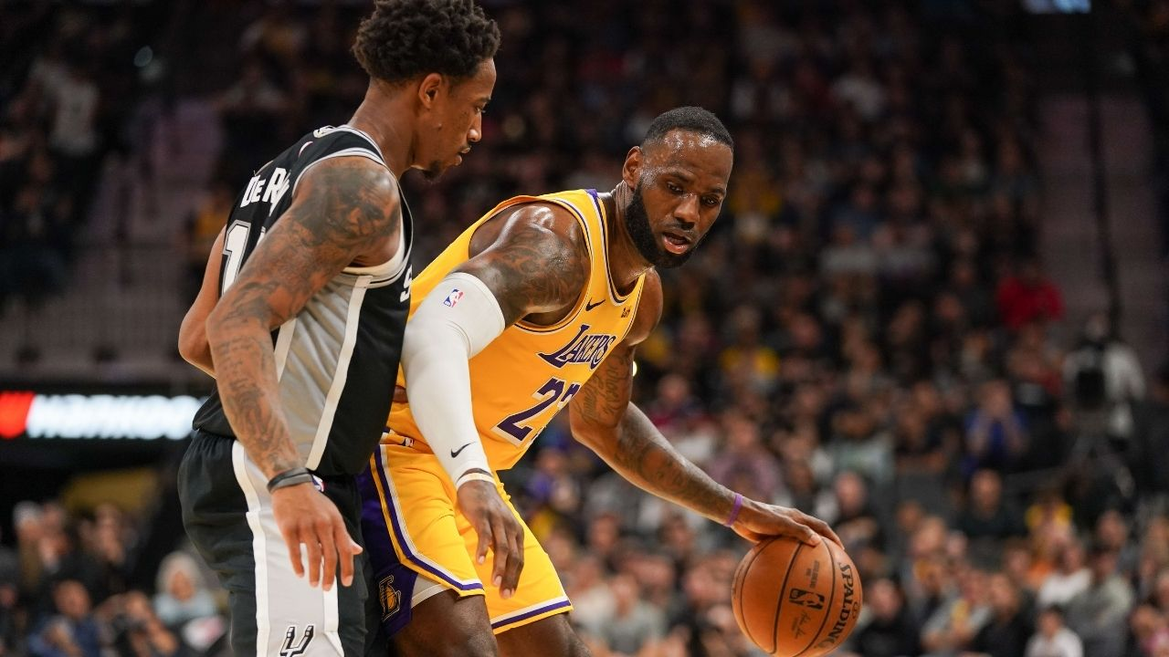 """""""Join your brother Kyle Lowry on the Lakers"""": DeMar DeRozan sends out a cryptic tweet in response to rumors of him joining LeBron James and co. in LA"""