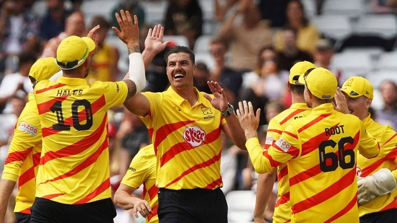 de Lange cricketer: Marchant de Lange picks first five-wicket haul in The Hundred 2021