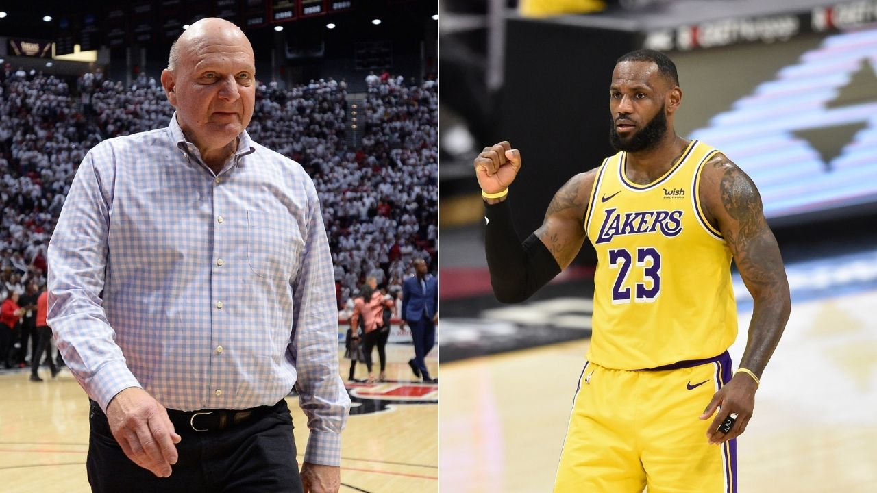 """""""LeBron James paid federal taxes at 3 times the rate of Steve Ballmer"""": Lakers and NBA fans aghast after Clippers owner and Microsoft CEO's finances are revealed on social media"""