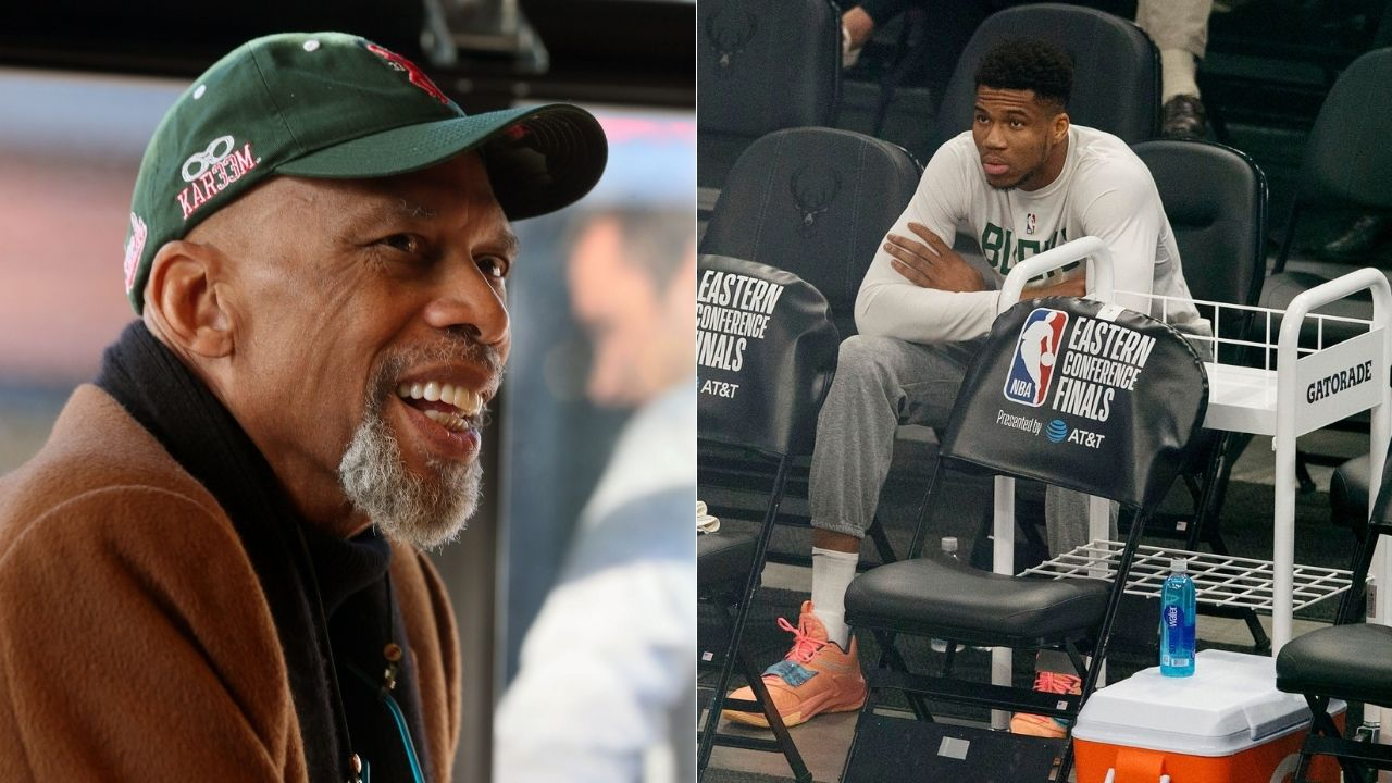 """""""Giannis and his Bucks won't win NBA title this year"""": Since Kareem Abdul-Jabbar picked Brooklyn Nets to beat them, his former team have 6-2 record and have made the NBA Finals vs Phoenix Suns"""