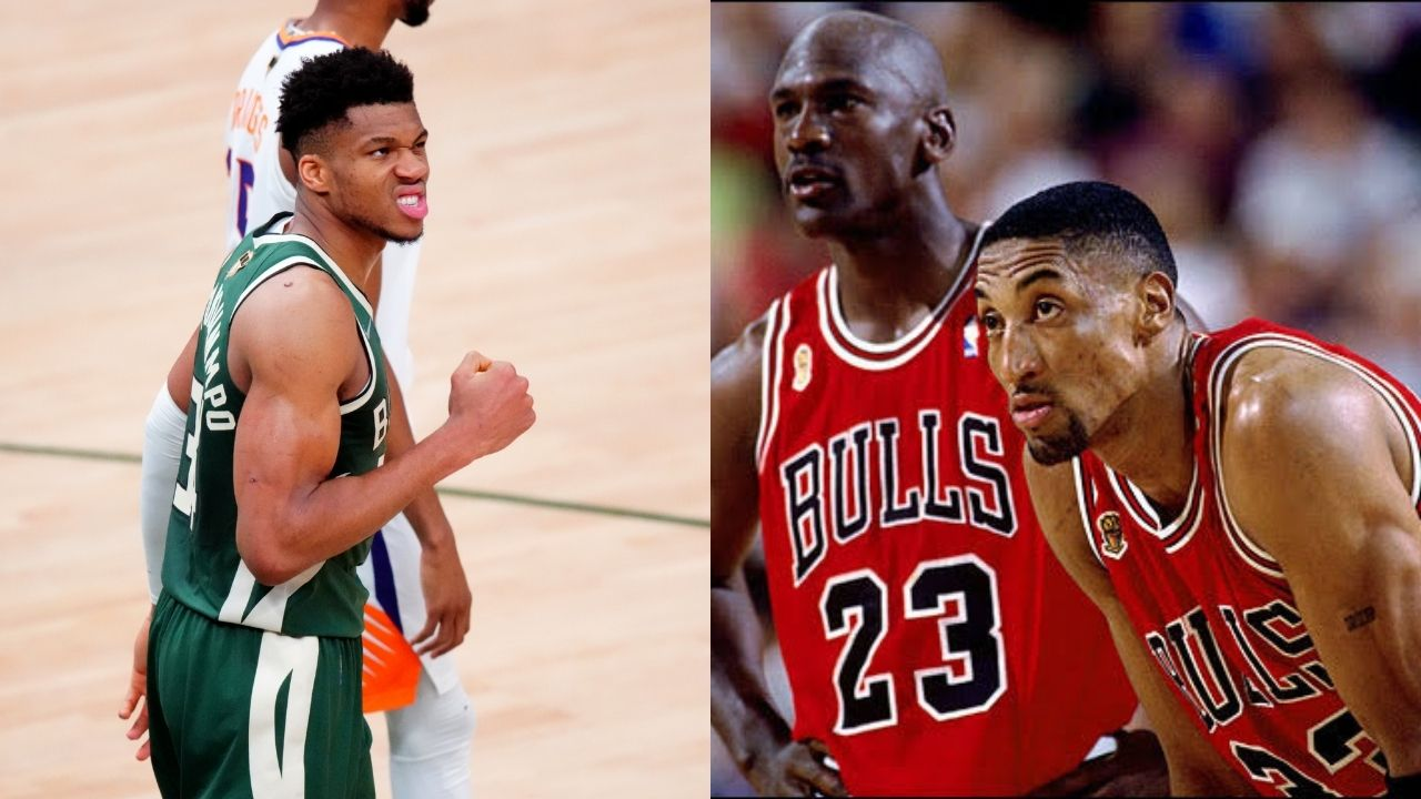 """""""I am not Michael Jordan"""": Giannis Antetokounmpo rejects any comparisons to the 'GOAT' following another 40-point explosion in the Bucks Game 3 win against Chris Paul and the Suns"""