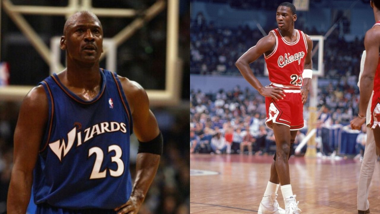 """""""Michael Jordan couldn't beat Jamal Crawford?"""": When the 'GOAT' played against a younger MJ in a classic 2003 Gatorade commercial"""