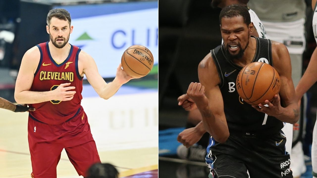 """""""Is Kevin Durant trying to be like LeBron James?"""": Reports emerge of the Nets' superstar trying to recruit Kevin Love during the Olympics training"""