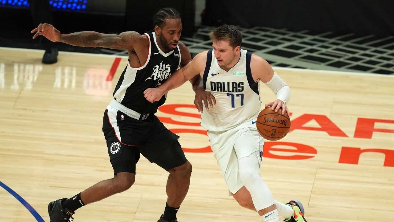 """""""Luka, Kawhi Leonard, Porzingis, Hardaway, that's a Championship team!"""": NBA Analyst believes the Klaw's title chances are higher in Dallas than Los Angeles"""
