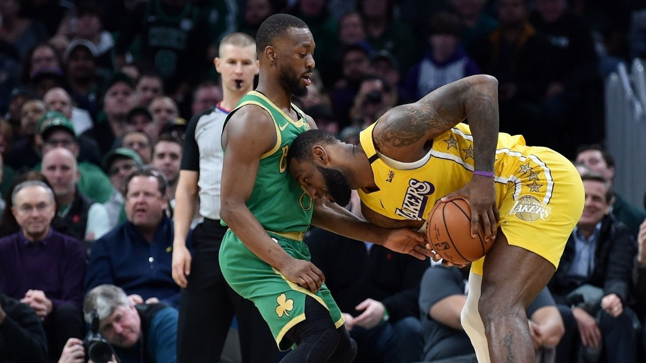 """""""Kemba Walker will be sought by both LA clubs"""": Zach Lowe predicts LeBron James and Kawhi Leonard to recruit former Celtics All-Star"""