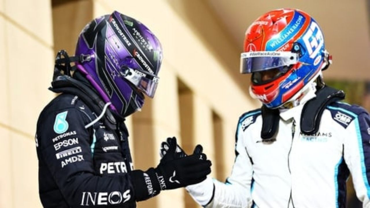 """""""As long as Hamilton is driving at Mercedes; he'll just stay at Williams""""– Former F1 driver on George Russell"""