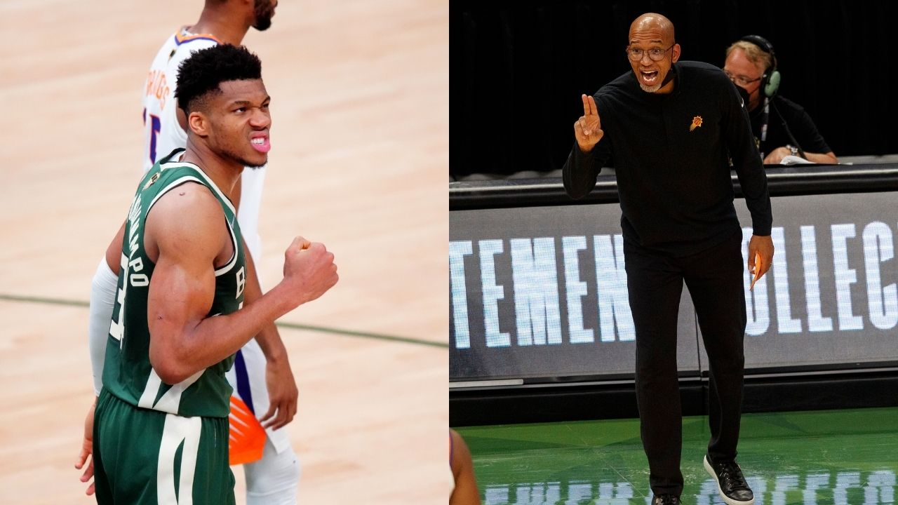 """""""Giannis had more free throws than the entire Suns roster"""": Monty Williams blasts the referees for favoring the Bucks MVP in Chris Paul and co's Game 3 loss"""