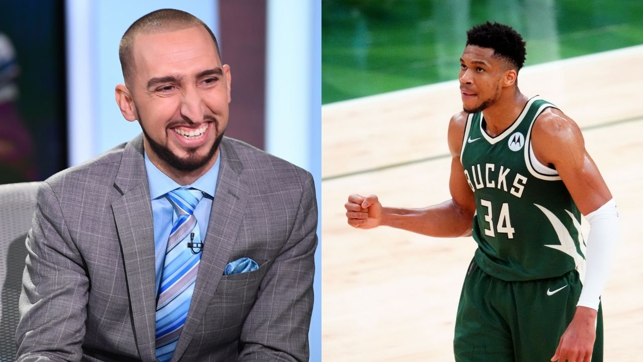 """""""Giannis Antetokounmpo is no doubt a Top 3 player in the league"""": Nick Wright places the Bucks' star along with LeBron James and Kevin Durant on his list"""