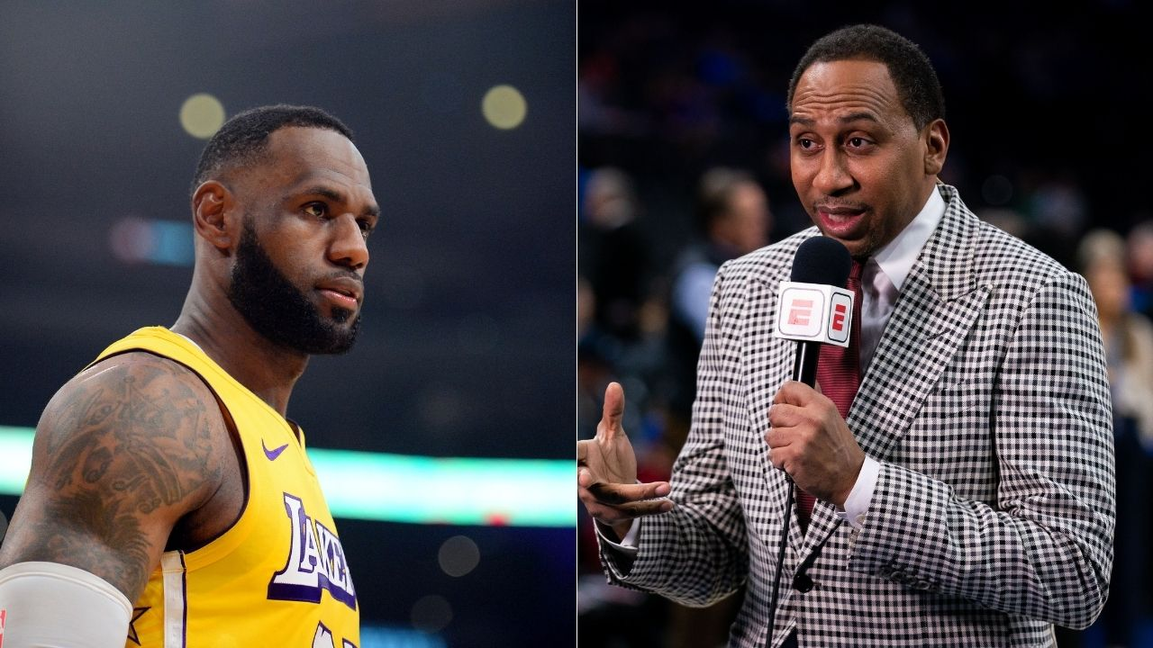 """Stephen A. Smith rips LeBron James for complaining about playoff injuries to All-NBA players: """"We can't even analyze basketball anymore, without dudes being caught up in their feelings"""""""