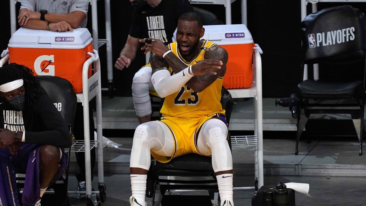 """""""LeBron James is the Most Abused Athlete In The World"""": Unique stat shows that the Lakers superstar is the most disrespected athlete in the entire sporting community"""