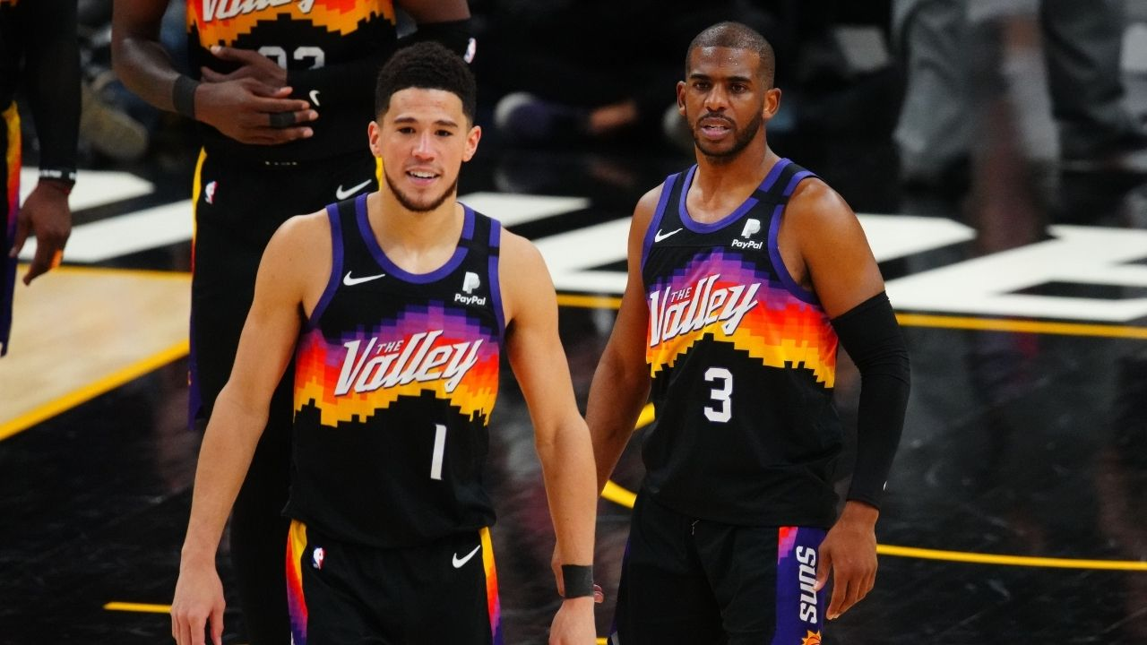 """""""Scoring isn't everything, got to be better at not turning the ball over"""": Chris Paul sits down with Rachel Nichols to address his abysmal Game 4 play ahead of crucial Game 5 against Giannis and the Bucks"""