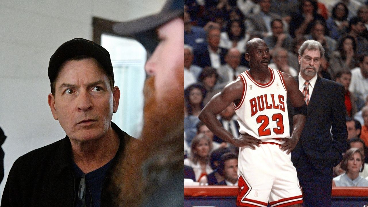 """""""Michael Jordan lost to Charlie Sheen and his father in a 2v1"""": When the 'GOAT' squared off against the legendary actors in 1987"""