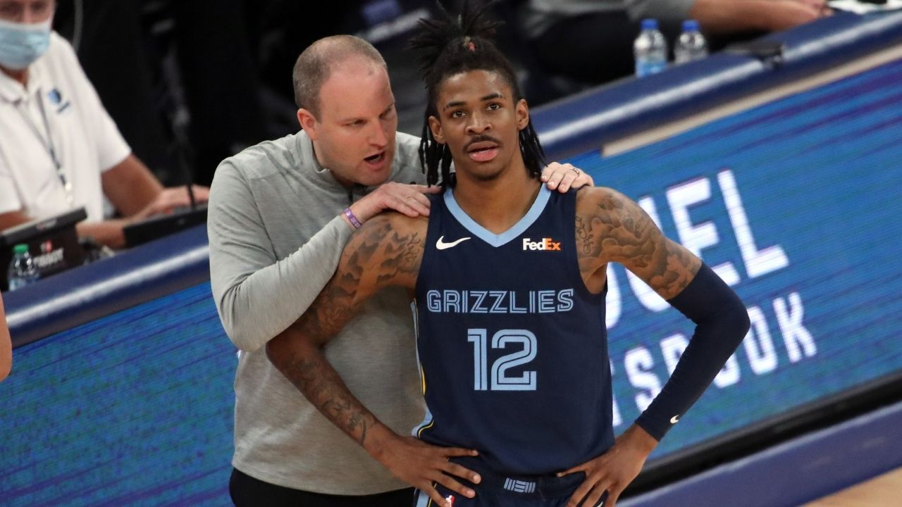 """""""Don't hit me up now"""": Ja Morant and and an NBA reporter clear up a hilarious misunderstanding about the USA Basketball team on Twitter"""
