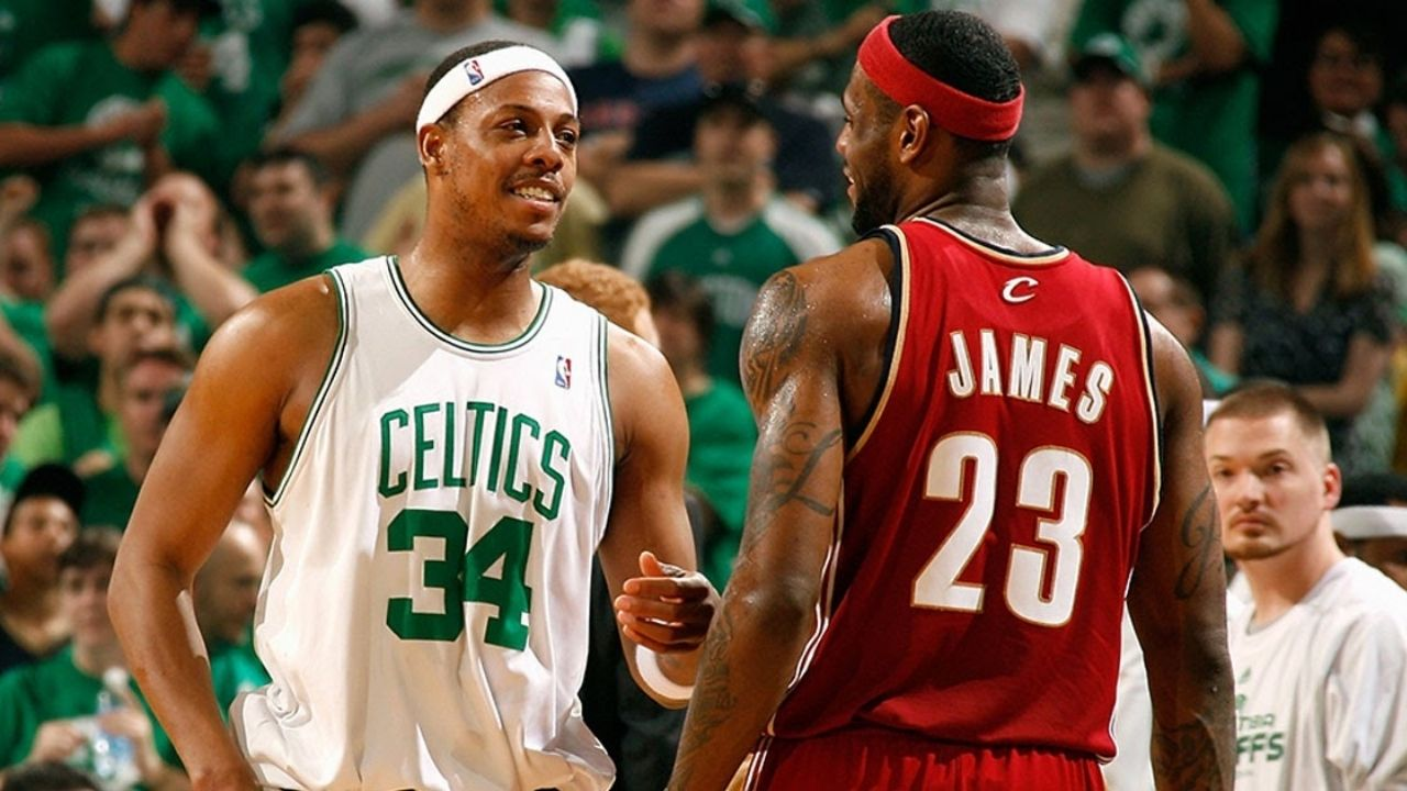 """""""ESPN wasn't a great fit... You have to talk about LeBron James all the time"""": Paul Pierce lays into the Network for over-hyping up Lakers star"""