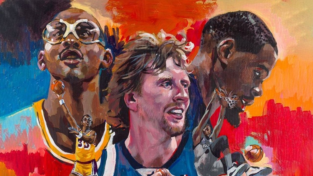 """""""Not sure who they other guys are"""": Dirk Nowitzki jokingly takes shots at Kareem Abdul-Jabbar and Kevin Durant after being named cover athlete for NBA 2K22 Legends edition cover"""