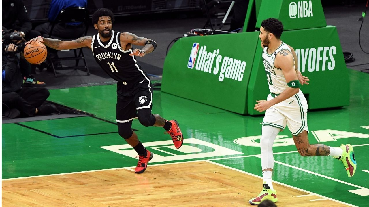 """""""Kyrie Irving is misunderstood"""": Jayson Tatum defends his former Celtics teammate from all the criticism he receives"""