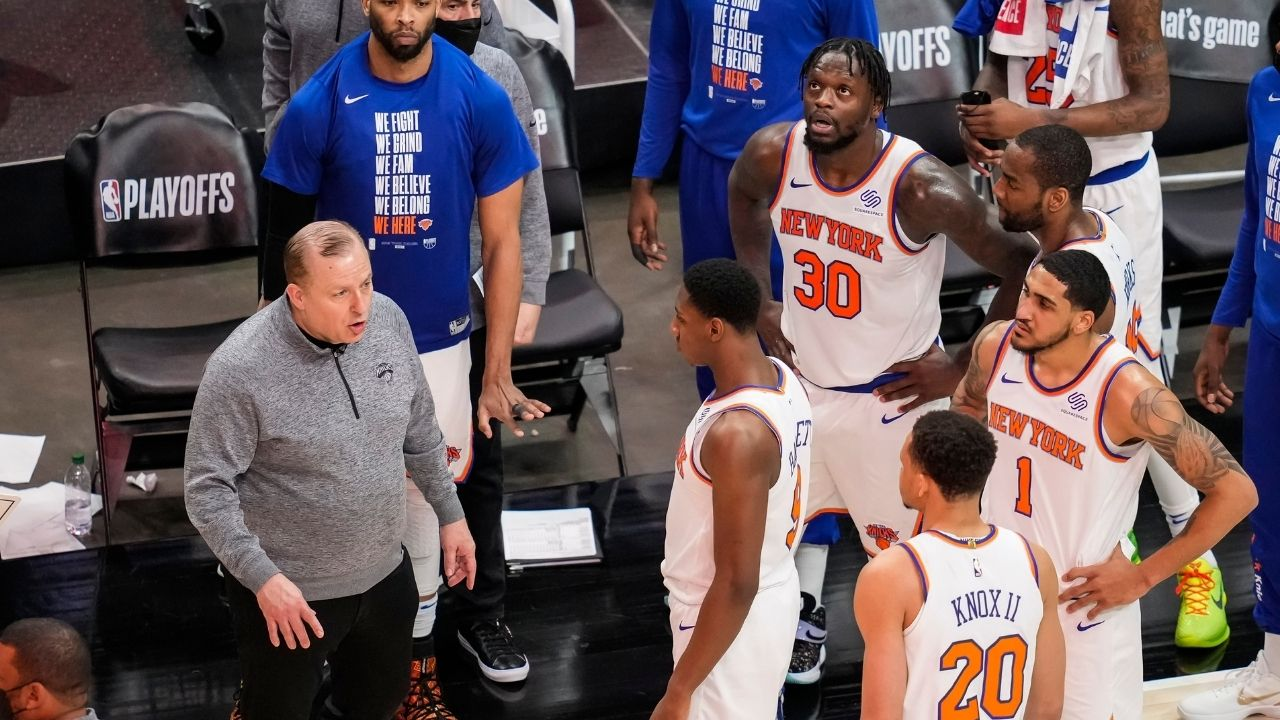 """""""New York Knicks want to trade up to a lottery pick in the 2021 NBA Draft"""": Shams Charania reports that Leon Rose is aiming for a big move"""