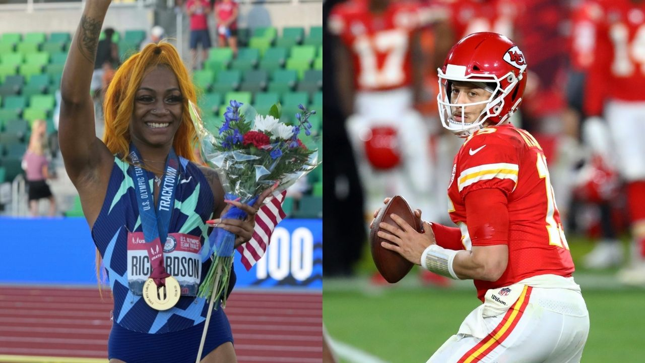 'Just let her run' - Patrick Mahomes and Odell Beckham Jr. reacts to Sha'Carri Richardson being banned from 2021 Olympics