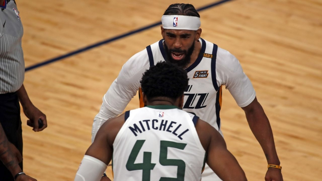 """""""We'll lock Mike Conley in the house, that's the plan"""": Donovan Mitchell approves hilarious plan to ensure that Utah Jazz can sign All-Star point guard in free agency"""