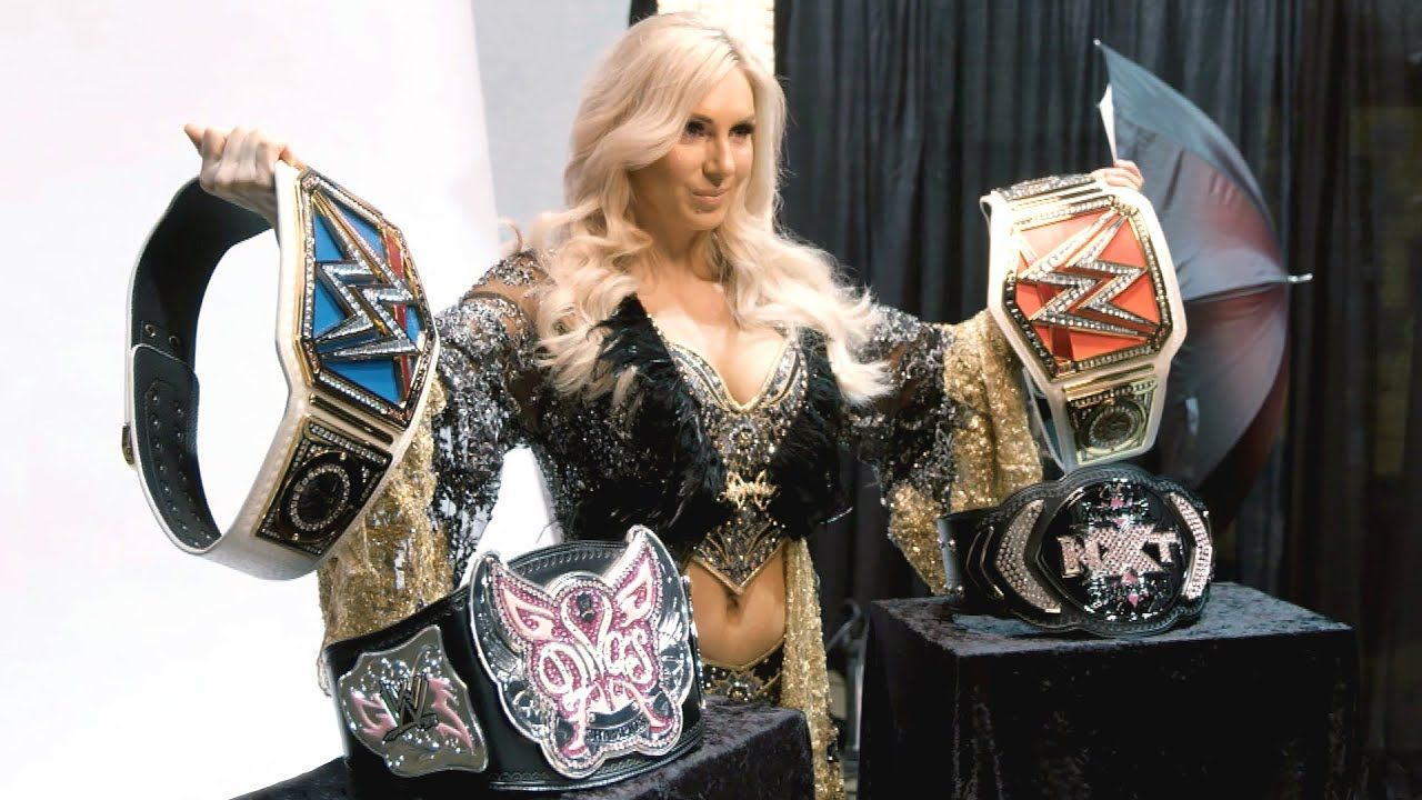 Eric Bischoff comments on WWE removing title counts from Charlotte Flair's record