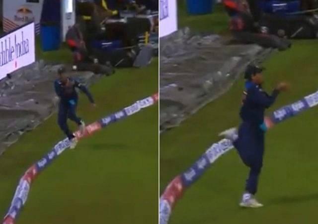 Rahul Chahar catch vs Sri Lanka: Indian spinner grabs terrific boundary catch to dismiss Avishka Fernando in 2nd T20I