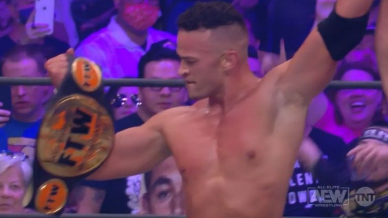 Ricky Starks beats Brian Cage for the FTW Championship at AEW Dynamte Fyter Fest