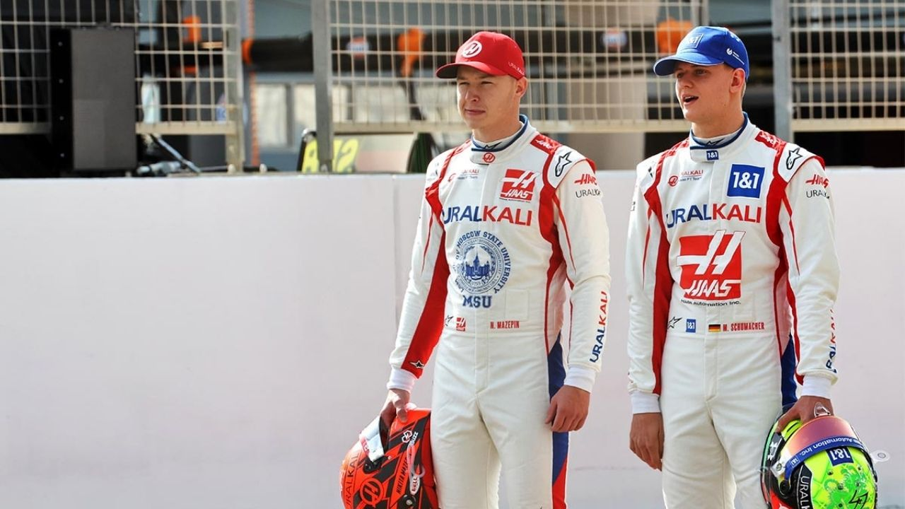"""""""We work really well together"""" - Mick Schumacher clarifies relationship with Haas teammate Nikita Mazepin"""