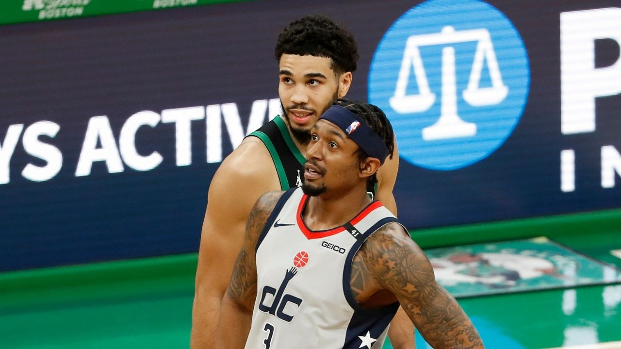 """""""Jayson Tatum is actively playing LeBron James"""": The Celtics' star is confident about recruiting Bradley Beal amidst strong Warriors' rumors"""