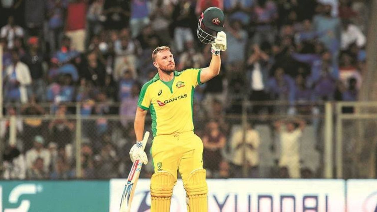 Why is Aaron Finch not playing today's 1st ODI between West Indies and Australia in Barbados?