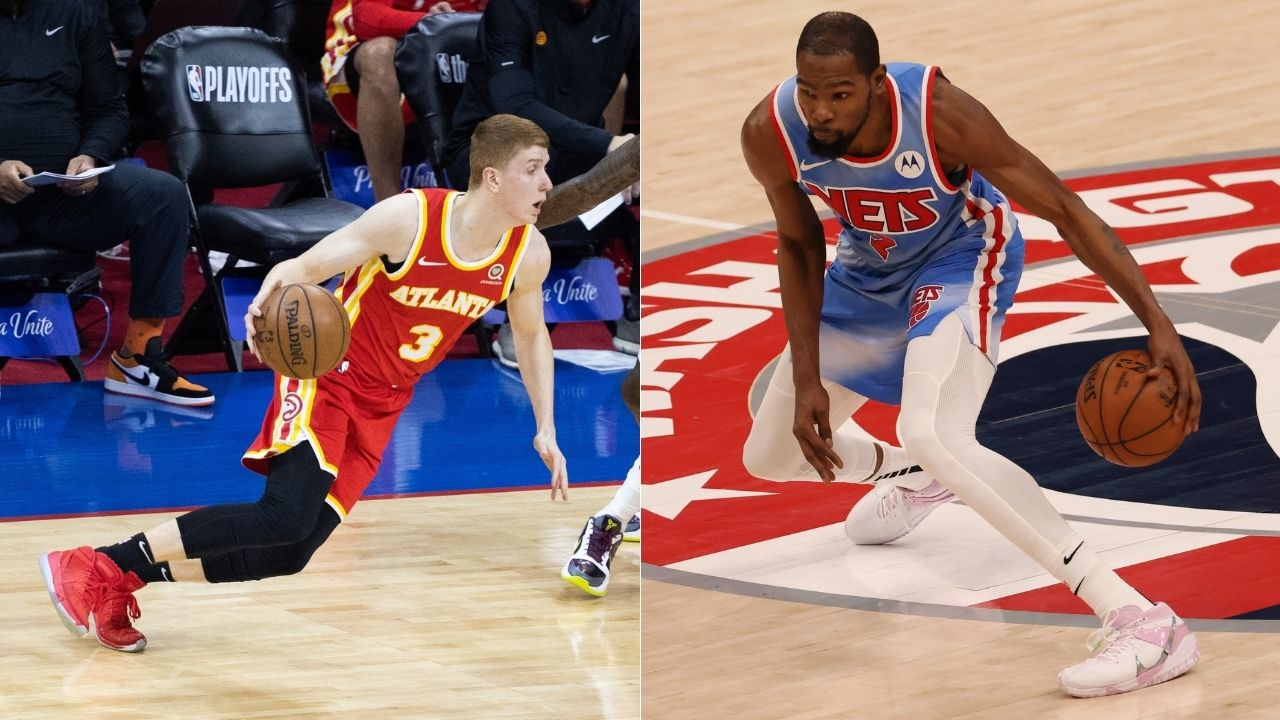 """""""Kevin Durant goes 'Welcome to the league, rook!'"""": Kevin Huerter describes his Welcome to the NBA moment on the JJ Redick Podcast"""