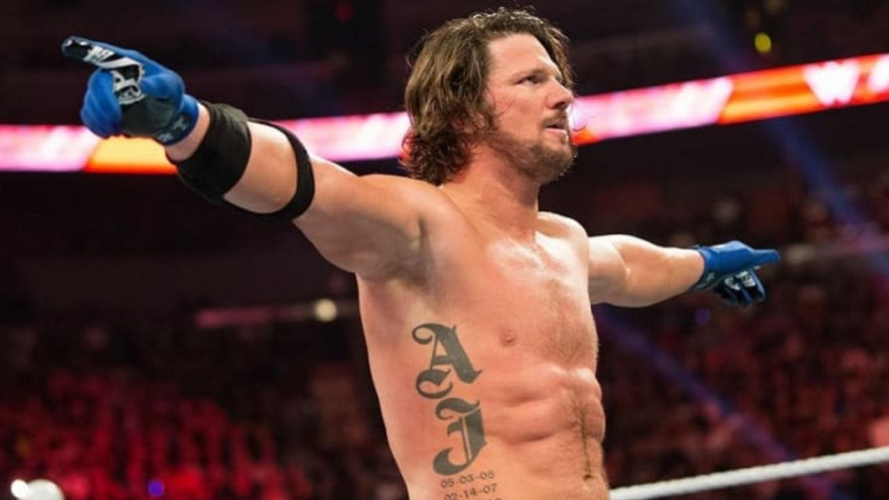 AJ Styles recalls legitimately getting choked out during a match