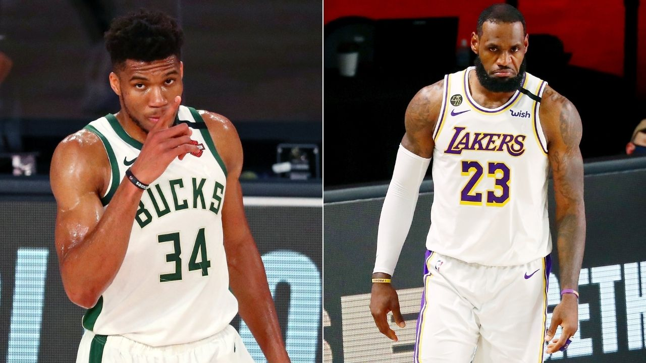 """""""Giannis pulls off a LeBron move in Game 6"""": The Greek Freak makes an exact copy of King James' travel in 2019"""