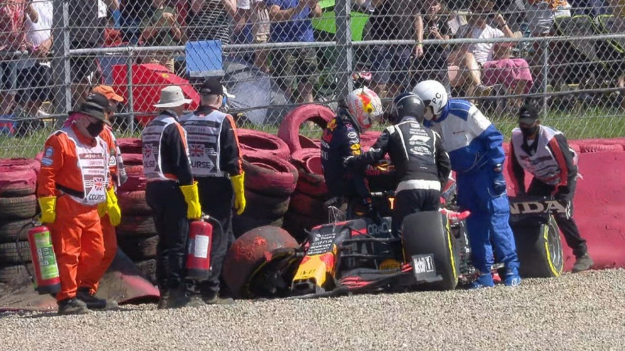 """""""It actually broke Max's seat""""– Red Bull reveals how strong was Max Verstappen's 51G crash"""