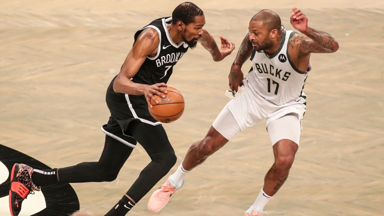 """""""Battle with Kevin Durant was like a big heavyweight fight"""": Bucks' PJ Tucker revels in how he took revenge on Nets star for his loss with Houston Rockets in 2018 Western Conference Finals vs Warriors"""