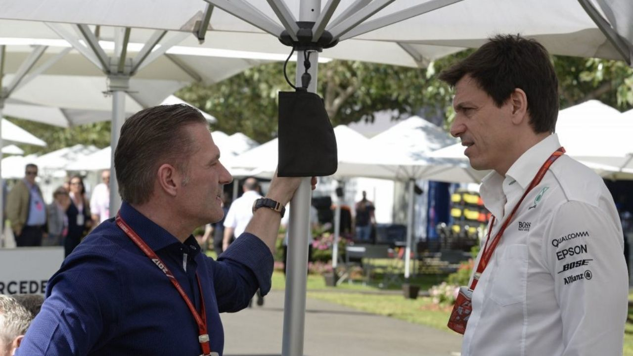 """""""He no longer needs to call us anymore""""– Jos Verstappen declares fallout with Toto Wolff"""