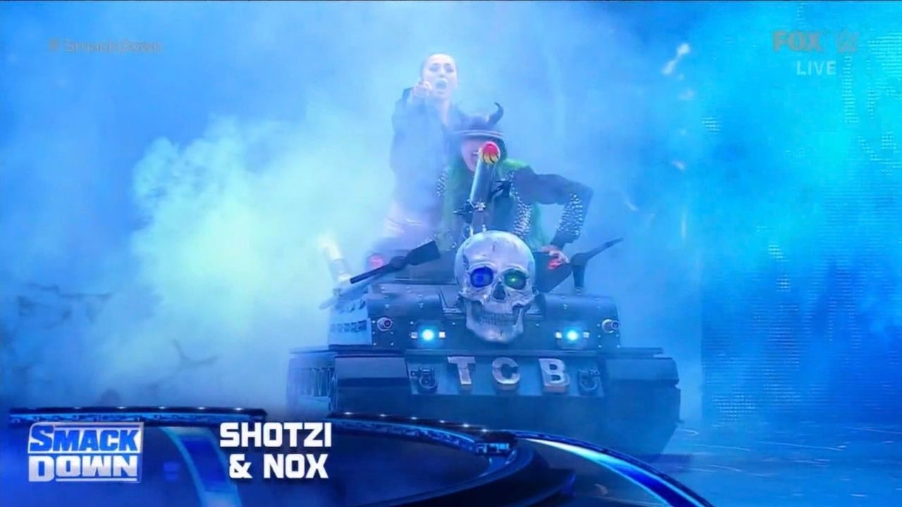 Shotzi Blackheart and Tegan Nox make WWE main roster debut on SmackDown