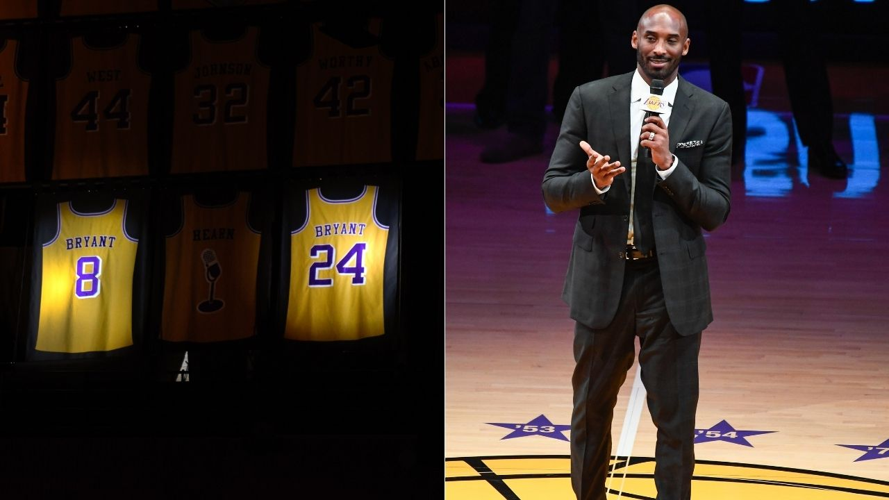 """""""With Shaq gone, I had to provide leadership and be locked in 24 hours a day"""": Kobe Bryant gives a detailed explanation about why the Lakers switched his jersey numbers from 8 to 24"""