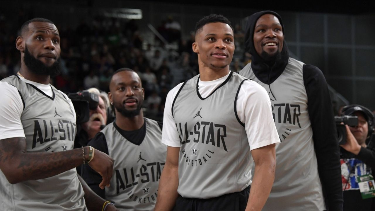 """""""LeBron James hosted Russell Westbrook and Anthony Davis at his house"""": How the Lakers' FMVP convinced the Wizards superstar to come to LA before Rob Pelinka made money moves"""