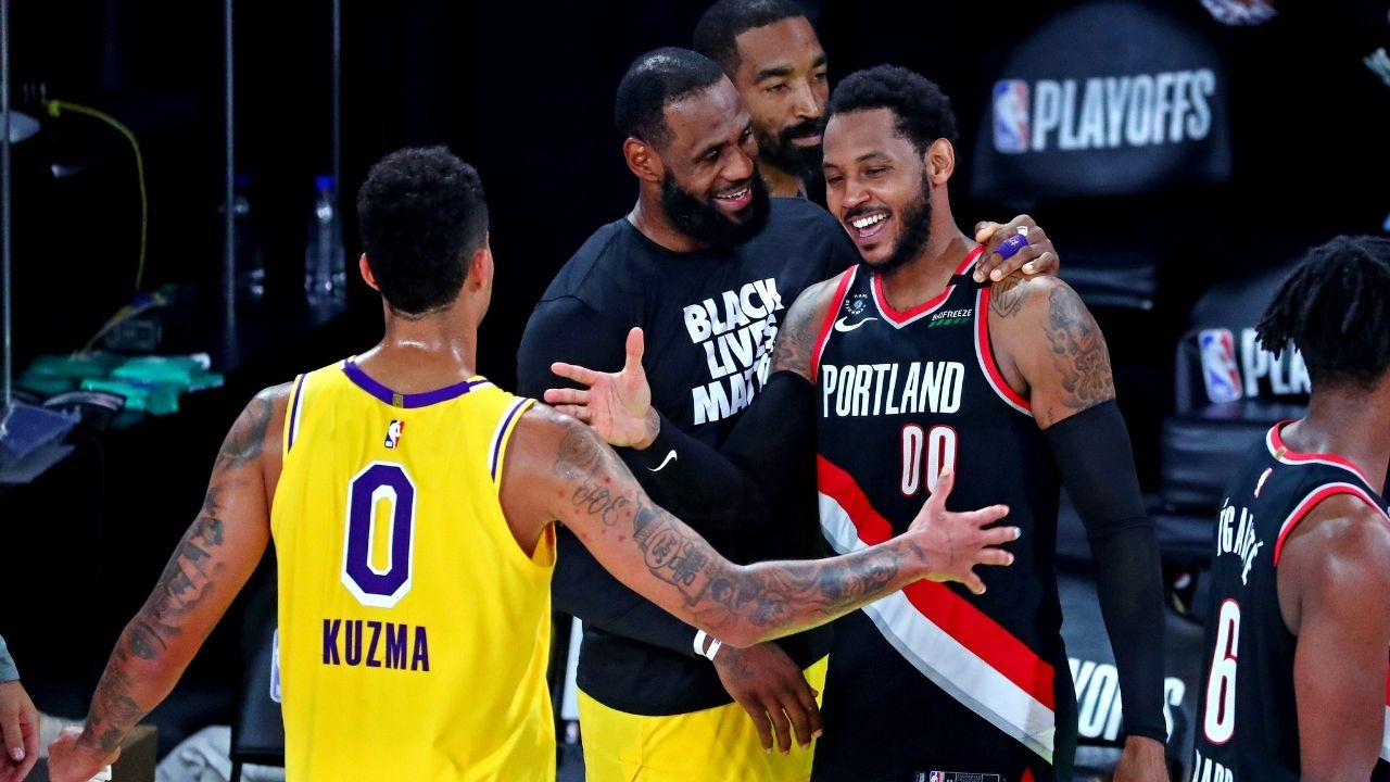 """""""The Los Angeles Lakers are the most likely landing spot for Carmelo Anthony"""": An anonymous NBA agent reveals that LeBron James and Co. could very well acquire the Portland star"""