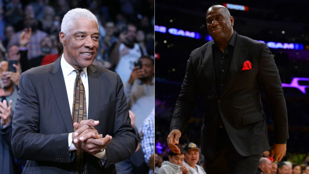 """""""We cut off Julius Erving at the baseline, he started walking in the air"""": Magic Johnson describes arguably the greatest NBA Finals layup of all time by Dr. J in 1980 vs Lakers"""