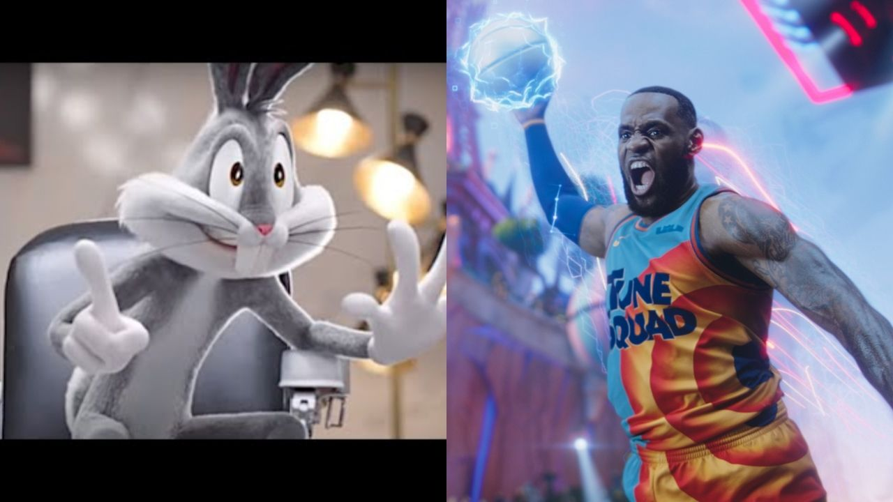 """""""LeBron James helped me realize my full potential as the GOAT"""": A new Space Jam 2 promo features a hilarious interaction between Bugs Bunny and the Lakers' superstar"""